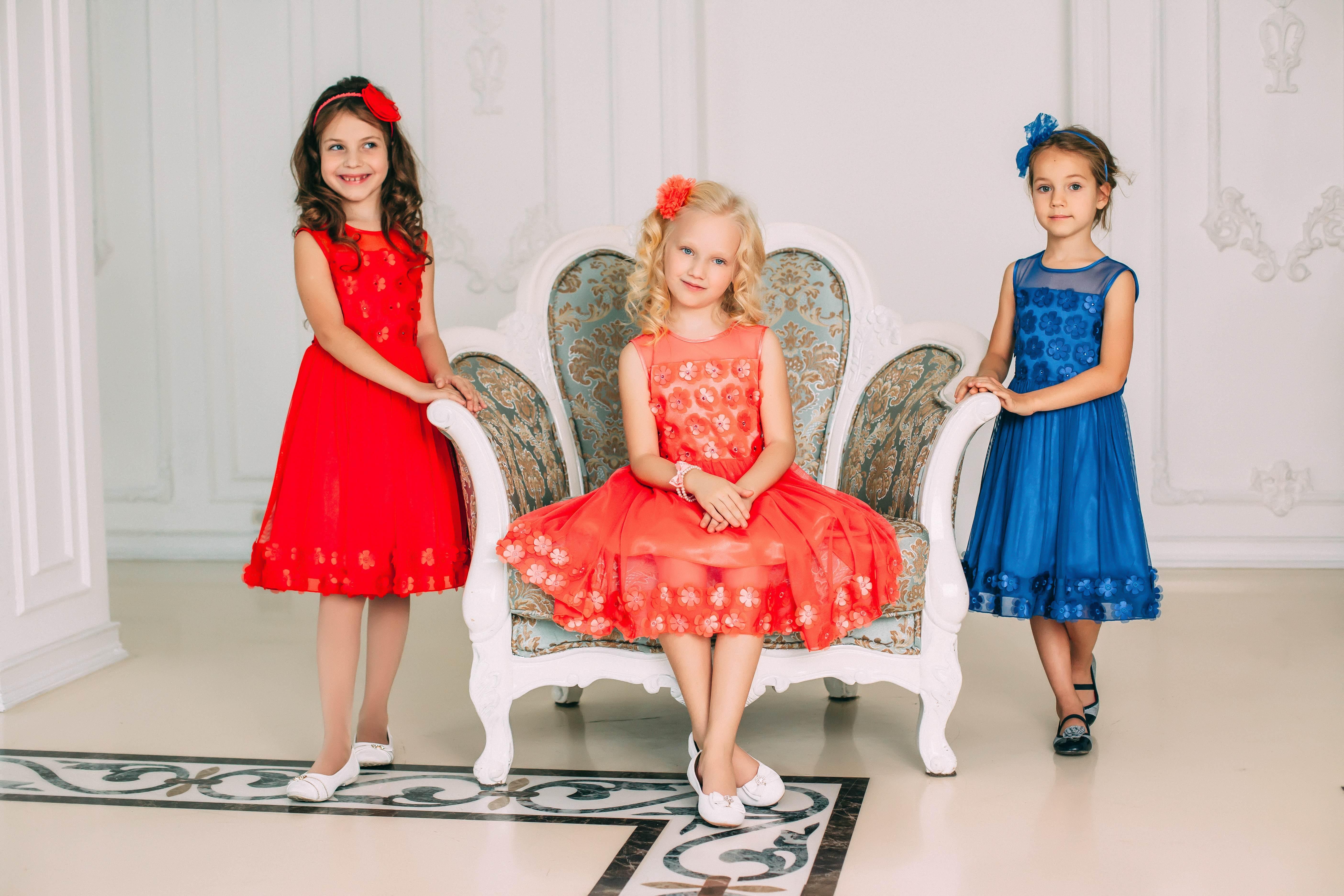 нарядные детские платья